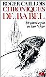 Chroniques de Babel
