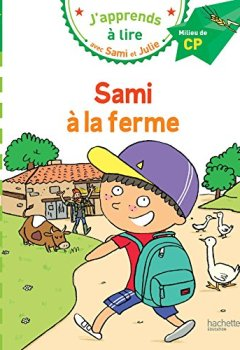 Livres Couvertures de Sami et Julie CP Niveau 2 Sami à la ferme