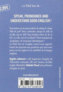 Livres Couvertures de Petit Livre de - Anglais correct, 2ed