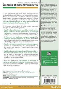 Livres Couvertures de Économie et management du vin