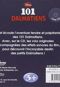 Livres Couvertures de 101 dalmatiens, mon histoire à écouter-Modèle aléatoire