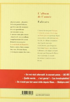 Livres Couvertures de L'Album de l'Année