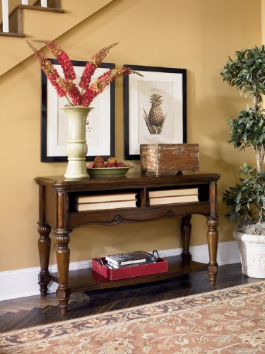 Image of WarmBrown Console Sofa Table - Design by