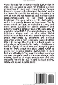Livres Couvertures de VIAGRA: The book guide on the male sexual enhancement pill that boost libido and makes you last longer in bed