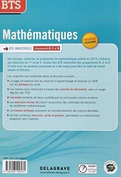 Telecharger Mathématiques BTS industriels : Groupements B, C et D de Ludovic Legry