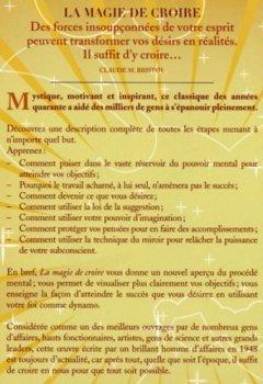 Livres Couvertures de LA MAGIE DE CROIRE