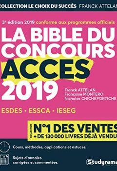Livres Couvertures de La bible du concours Accès