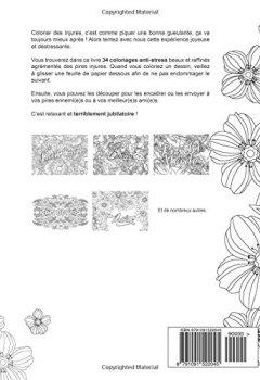 Livres Couvertures de Mon cahier d'injures à colorier: Le premier cahier de coloriage pour adultes avec gros mots, insultes & jurons