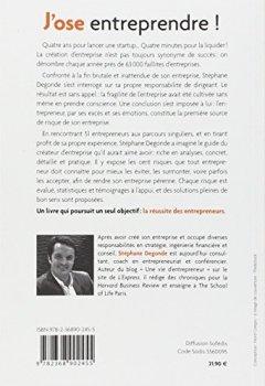 Livres Couvertures de J'ose entreprendre ! : Créer et diriger son entreprise : 100 risques à éviter pour réussir