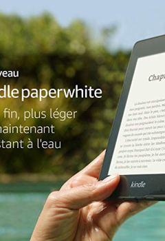 Livres Couvertures de Nouveau Kindle Paperwhite - Maintenant résistant à l'eau et avec deux fois plus d'espace de stockage - Avec offres spéciales