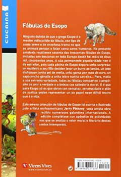 Portada del libro deFabulas De Esopo (cucaina) (Coleccion Cucaina) - 9788468211336