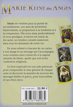 Livres Couvertures de Marie Reine des Anges : Cartes Oracle
