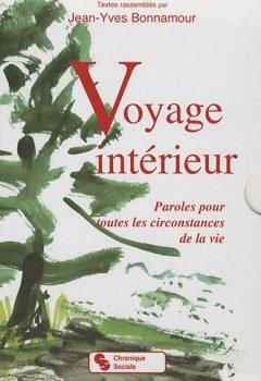 Livres Couvertures de Voyage intérieur coffret en 2 volumes : Paroles pour toutes les circonstances de la vie