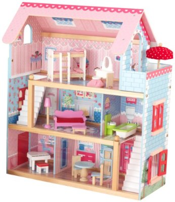 KidKraft-Chelsea-Doll-Cottage-with-Furniture
