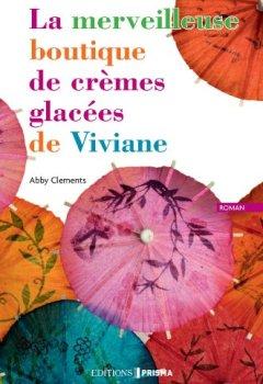 Livres Couvertures de La merveilleuse boutique de crèmes glacées de viviane
