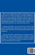 Livres Couvertures de Ma Cuisine: Edition 1 de 2: Auguste Escoffier l'original de 1934