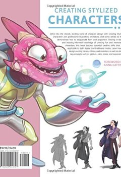 Livres Couvertures de Creating Stylized Characters