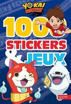 Livres Couvertures de Yokaï Watch - 1000 stickers et jeux