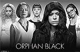 "Orphan Black - Faces 22""x34"" Art Print Poster"