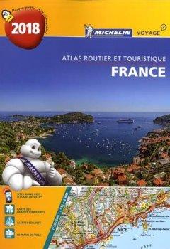 Livres Couvertures de Atlas Routier France Spirale Michelin 2018