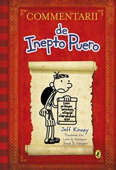 Buchdeckel von Commentarii de Inepto Puero (Diary of a Wimpy Kid Latin edition)