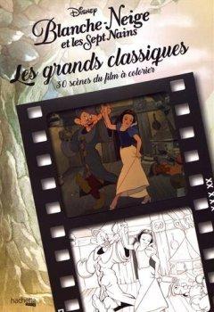 Livres Couvertures de Les Grands Classiques à colorier - Blanche Neige