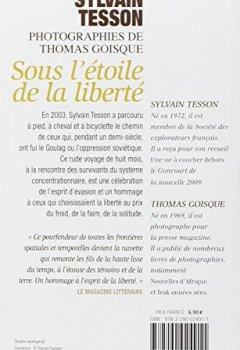 Livres Couvertures de Sous l'étoile de la liberté