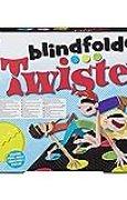 Hasbro gaming Twister Blindfolded Jeu de Société, E1888, Multicolore