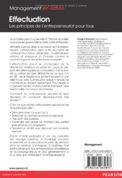 Livres Couvertures de Effectuation : Les principes de l''entrepreneuriat pour tous