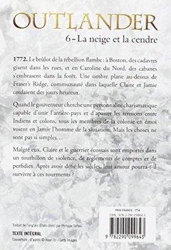 Livres Couvertures de Outlander, Tome 6 : La neige et la cendre : Contient : La neige et la cendre ; Les grandes désespérances ; Les canons de la liberté ; Le clan de la révolte
