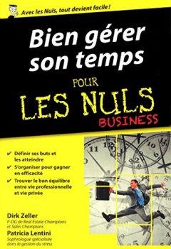 Livres Couvertures de Bien gérer son temps pour les Nuls poche Business