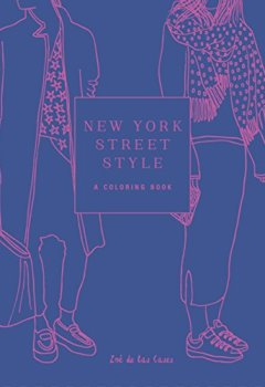 Livres Couvertures de New York Street Style: A Coloring Book