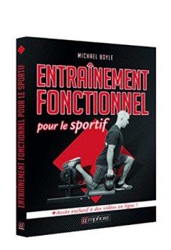 Livres Couvertures de Entrainement Fonctionnel pour le Sportif