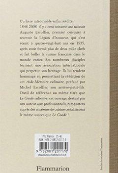 Livres Couvertures de L'Aide-Mémoire culinaire