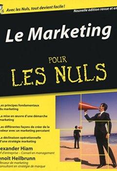 Livres Couvertures de Le Marketing pour les Nuls 3e édition