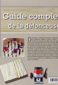Livres Couvertures de Guide complet de la défonceuse