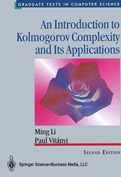 Livres Couvertures de AN INTRODUCTION TO KOLMOGOROV COMPLEXITY AND ITS APPLICATIONS