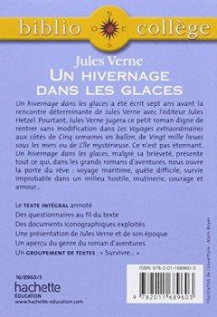 Livres Couvertures de BiblioCollège : Un hivernage dans les glaces