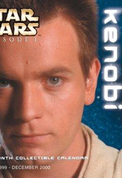 Abdeckungen Star Wars Episode I: Obi-Wan Kenobi 18 Month Collectible Calendar July 1999-December 2000