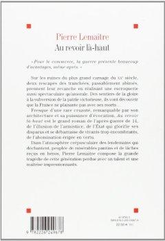 Livres Couvertures de Au revoir là-haut - Prix Goncourt 2013