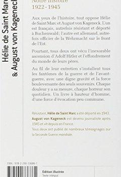 Livres Couvertures de Notre histoire : 1922-1945