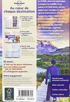 Livres Couvertures de Chili et île de Pâques - 4ed