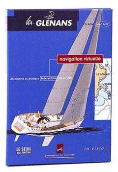 Livres Couvertures de Les Glénans: navigation virtuelle - découverte et pratique interactives de la voile