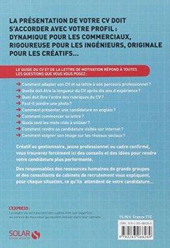 Livres Couvertures de LE GUIDE DU CV ET DE LA LETTRE DE MOTIVATION