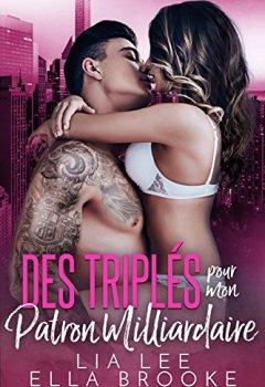 Livres Couvertures de Des Triplés pour mon Patron Milliardaire (French Edition)