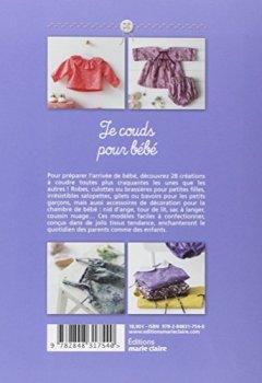 Livres Couvertures de Je couds pour bébé