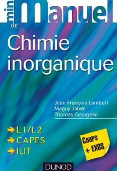 Livres Couvertures de Mini manuel de Chimie inorganique
