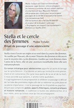 Livres Couvertures de Stella et le cercle des femmes : Rituel de passage d'une adolescente