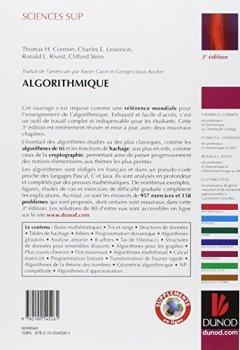 Livres Couvertures de Algorithmique - 3ème édition - Cours avec 957 exercices et 158 problèmes