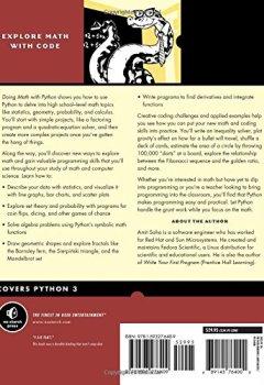 Livres Couvertures de Doing Math with Python